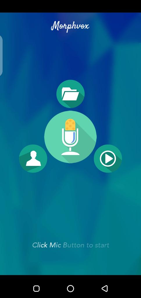 Screenshot of Morphvox Pro App