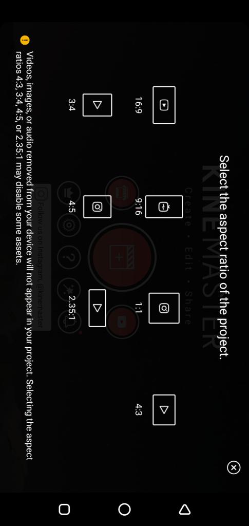 Screenshot of KineMaster 4K No Watermark