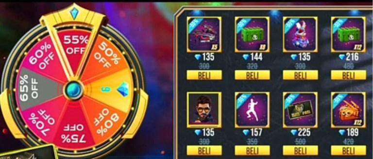 Screenshot of Lucky Spin Free Fire
