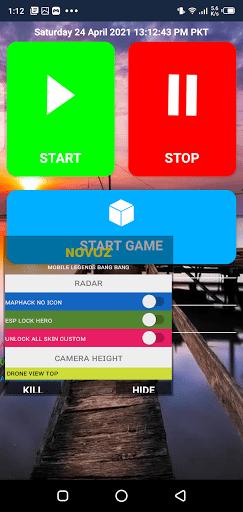 Screenshot of Novuz ML Apk