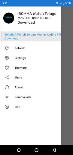 Screenshot of iBOMMA Download