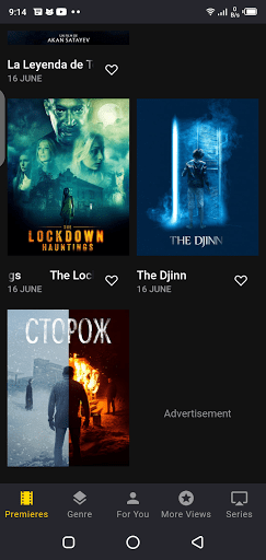 Screenshot of Allpeliculas Android