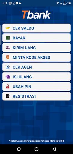 Screenshot of BRI Mobile Android