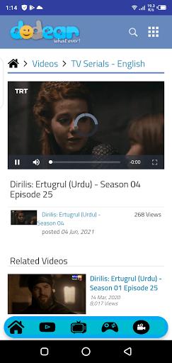 Screenshot of Dodear App