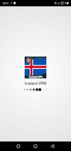 Screenshot of Iceland VPN App