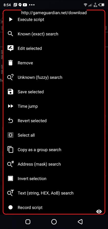 Screenshot of Script Injector Download