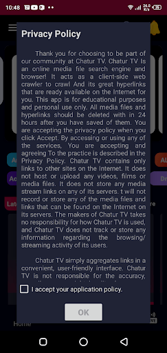 Screenshot of Chatur TV Apk