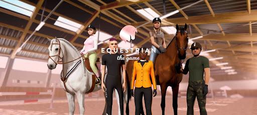 Screenshot of Equestrian the Game Apk