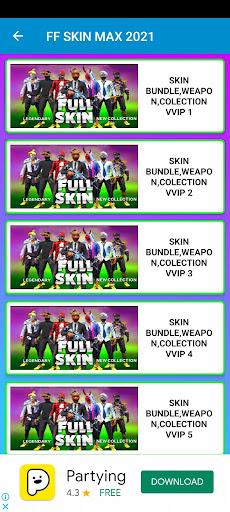 Screenshot of FF Skin Max Download