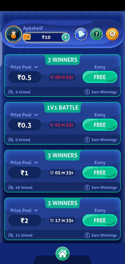Screenshot of Ludo Ninja Lite App