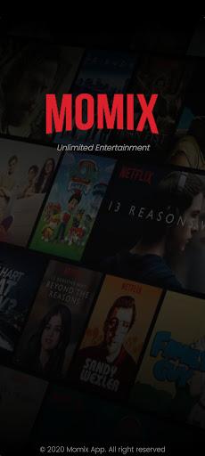 Screenshot of Momix Netflix