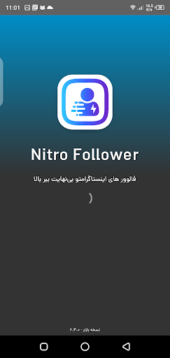 Screenshot of Nitro Follower