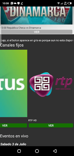 Screenshot of Primera Fila Apk