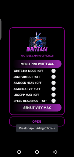 Screenshot of Regedit White444 Apk