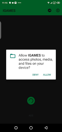 Screenshot of IGames Mobile Download