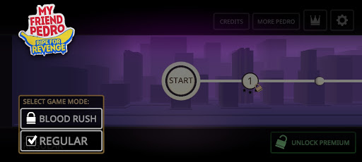 Screenshot of My Friend Pedro Game