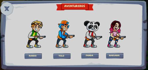 Screenshot of Yolo Aventuras Monster War Game
