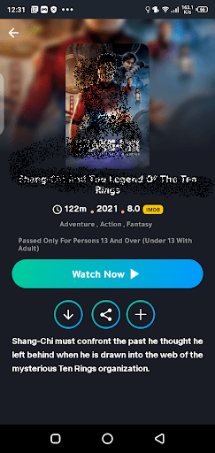Screenshot of Time Movies Android