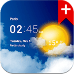 Transparent clock weather v2.00.08 APK Paid Ad-free