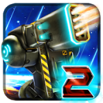 Sci Fi Tower Defense Module TD 2 v21 Mod (Unlimited Gold / Crystals) Apk