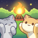 Cat Forest Healing Camp v2.4 Mod (Unlimited Money) Apk