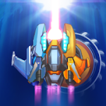 Transmute Galaxy Battle v0.3.2 Mod (Unlimited Coins + Energy + Unlock Plane + Drone) Apk