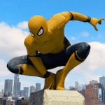 Spider Rope Hero Gangster New York City v1.0.15 Mod (Unlock all characters) Apk