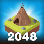Age of 2048 Civilization City Building Games v1.6.15 Mod (Free Shopping) Apk