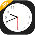 iClock iOS  Clock iPhone Xs, Phone 12 v3.1.0 Pro APK