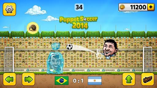 Puppet Soccer 2014 – Big Head Football 2.0.7 screenshots 1