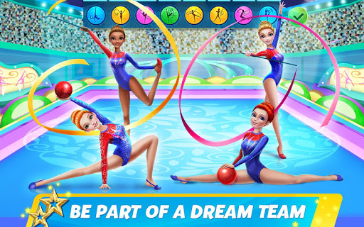 Rhythmic Gymnastics Dream Team Girls Dance 1.0.5 screenshots 9