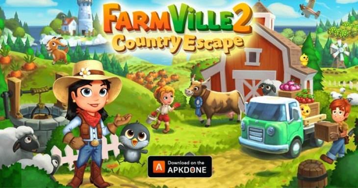 Farmville 2: Country Escape Poster
