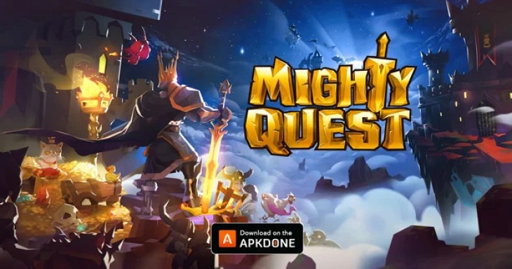 Mighty Quest for Epic Loot Poster