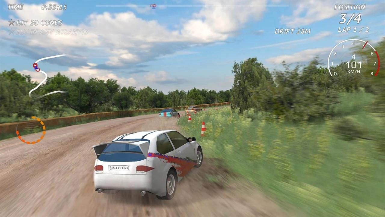 Rally Fury Screenshot 1