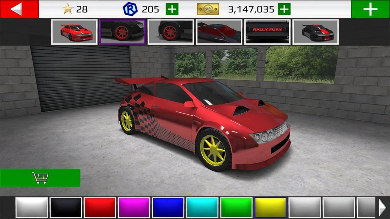Rally Fury Screenshot 2