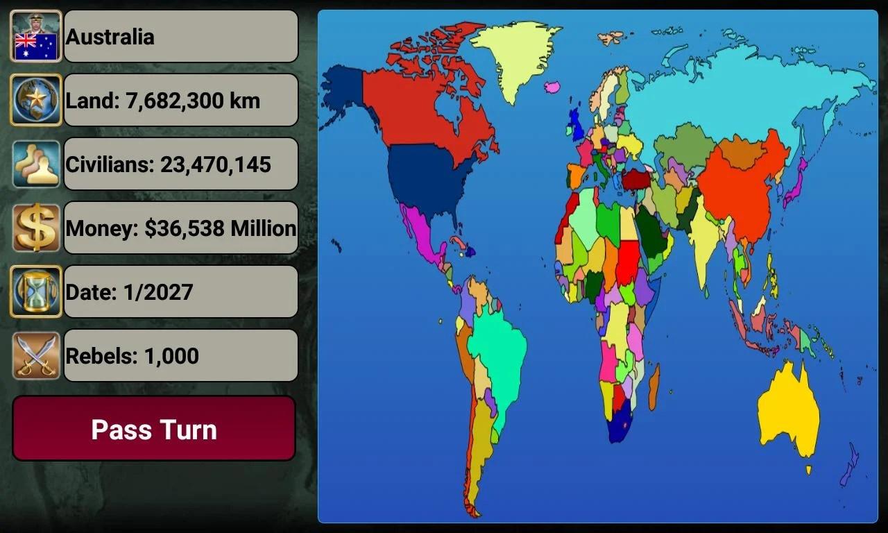 World Empire 2027 Screen 1