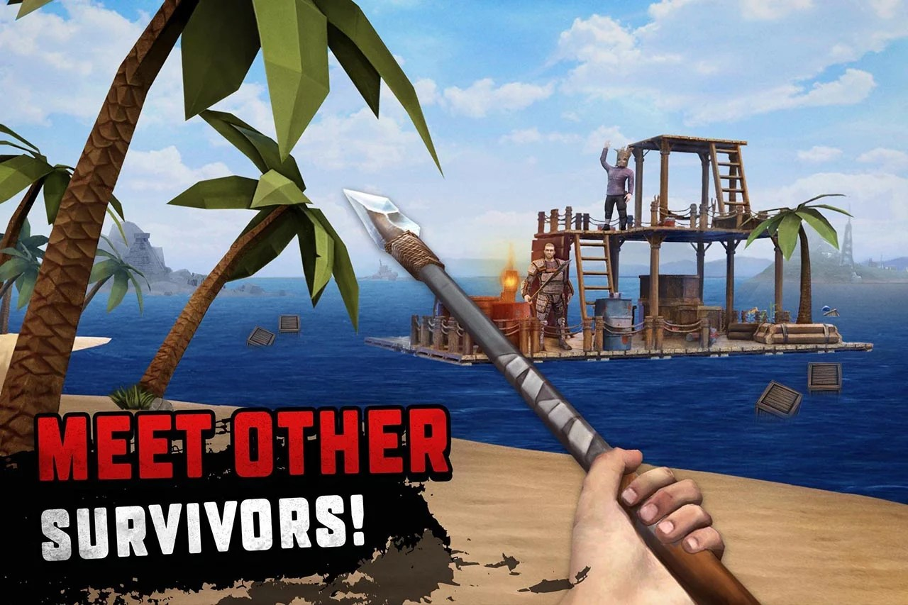 Survival 2 on raft screenshots
