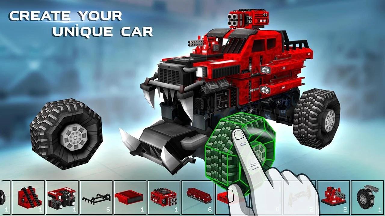 Blocky Car Screen 1