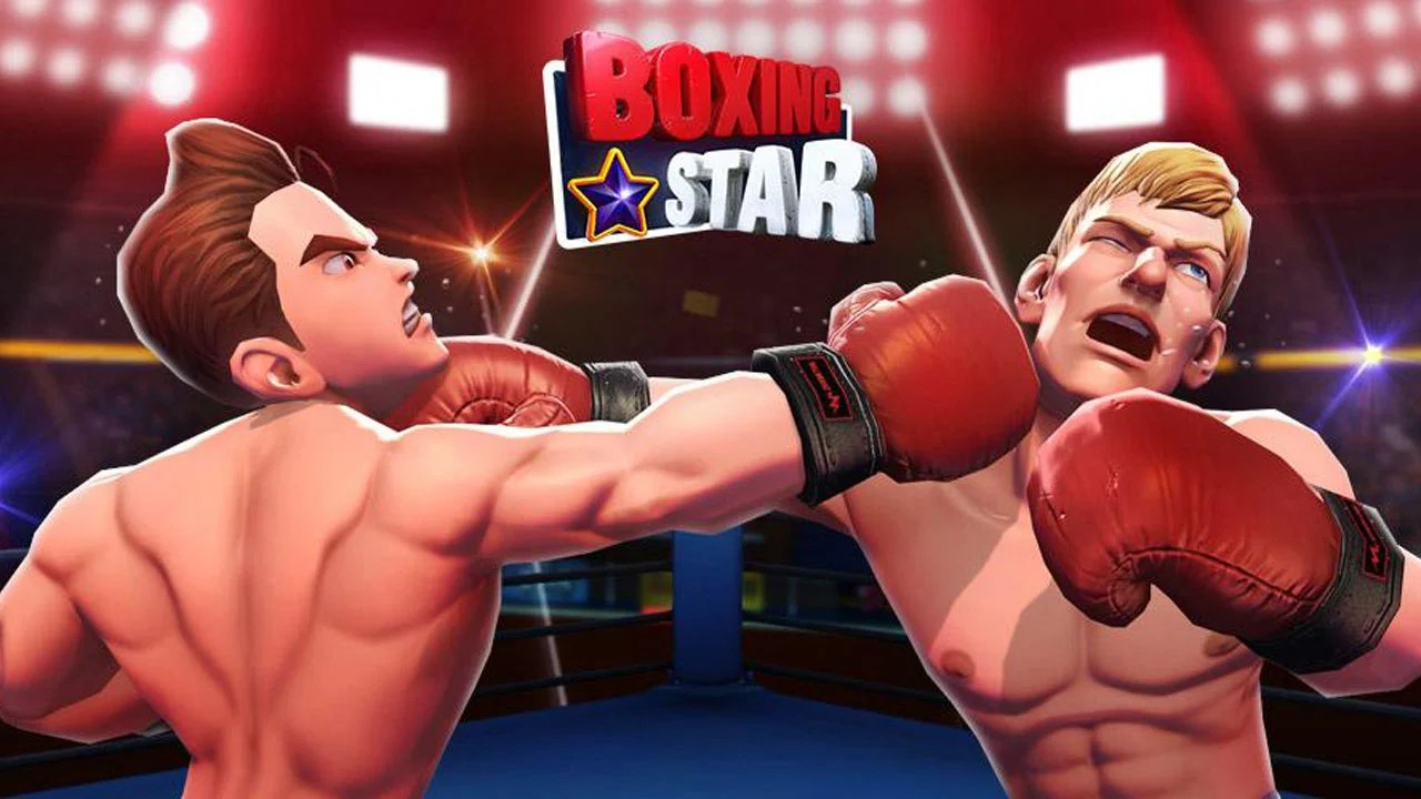 Boxing star poster