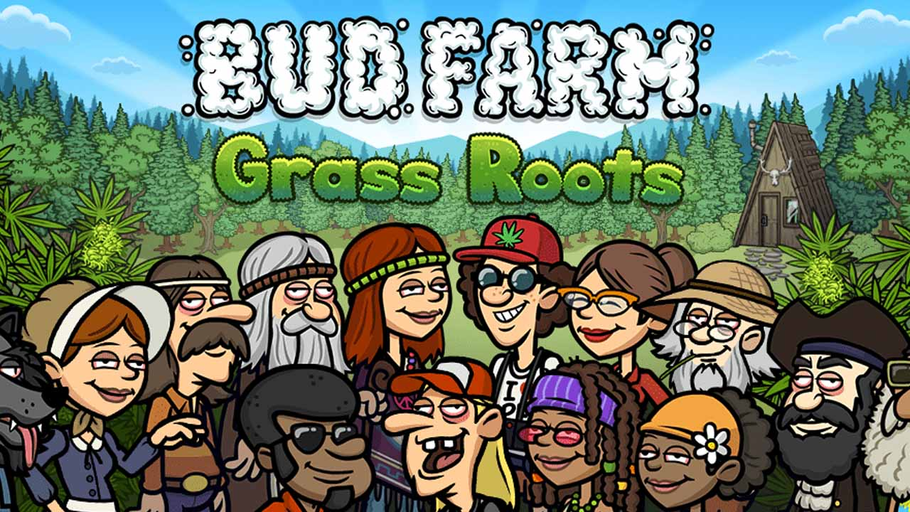 Bud Farm Grass Roots Poster