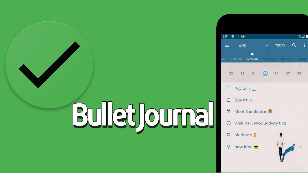 Bullet Journal poster