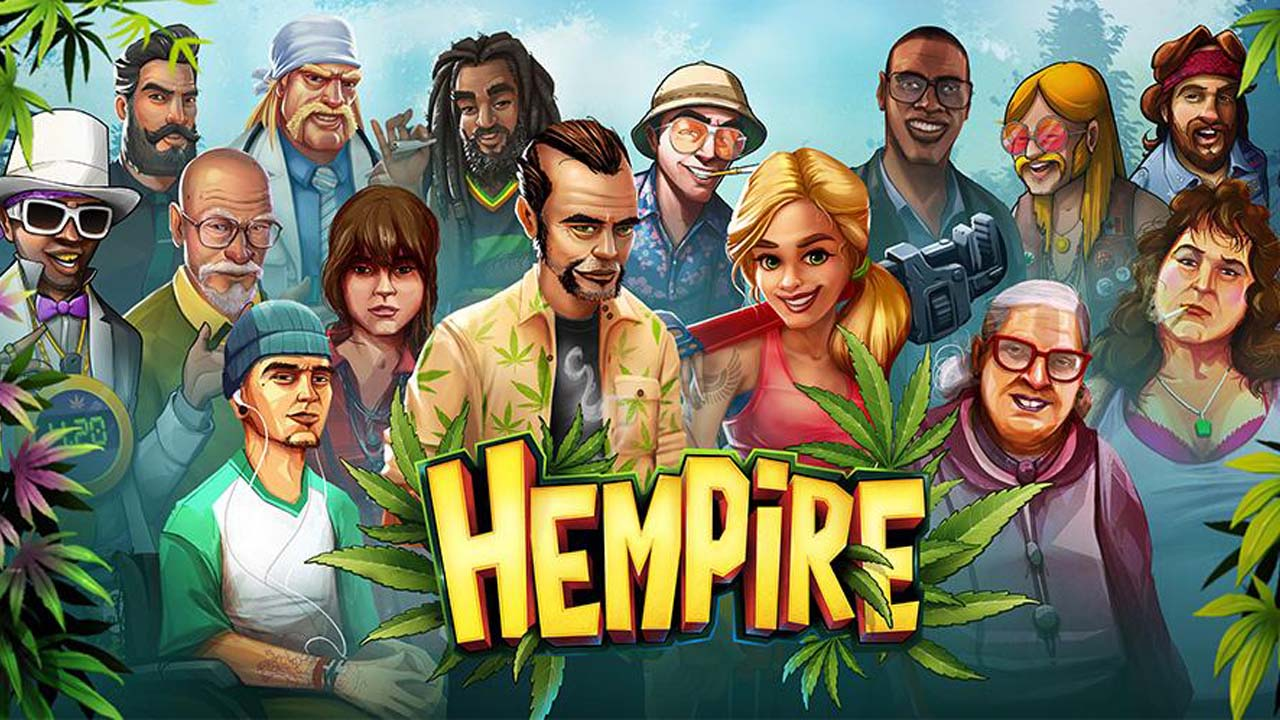 Hampire Plant Growing Game Poster