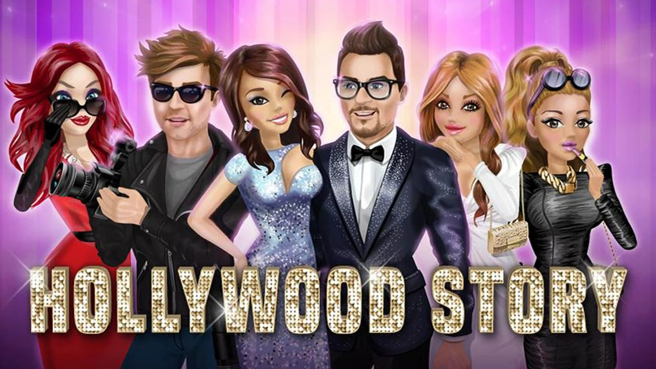 Hollywood Story Poster