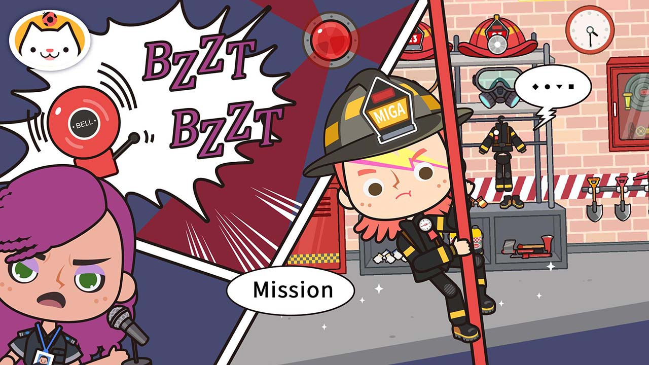 Mega Town My Fire Station Screen 0