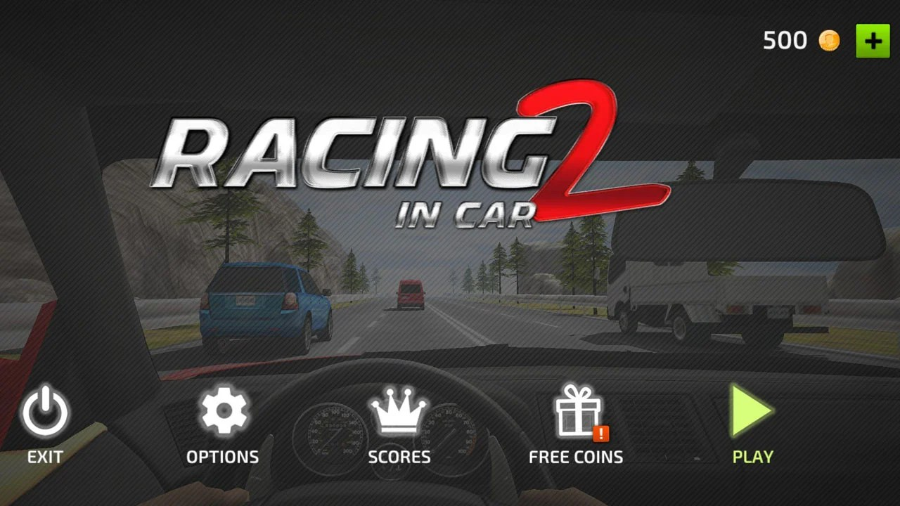 Racing in cars 2 poster