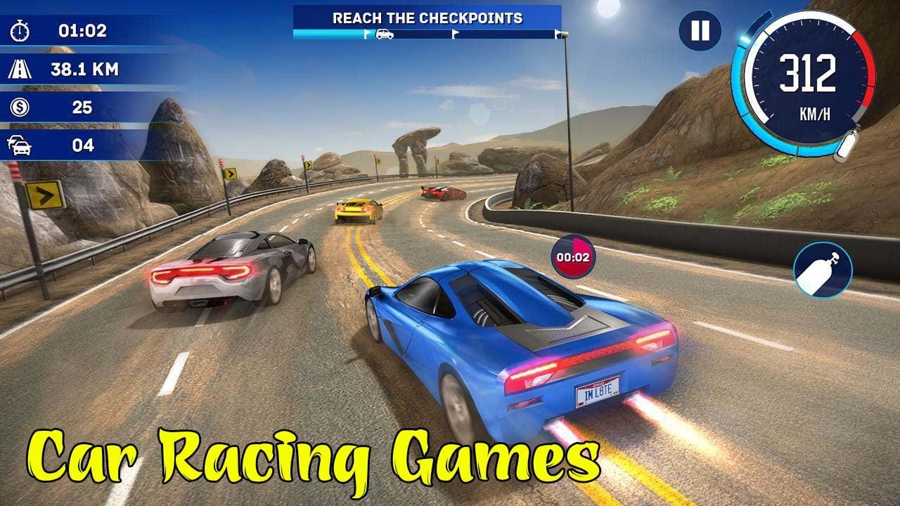 Car Racing Games Poster