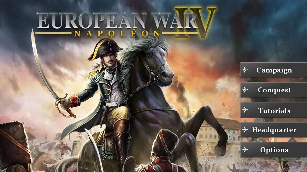European War 4 Napoleon Poster