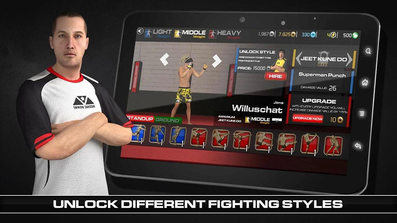 MMA Fighting Clash Screen 3