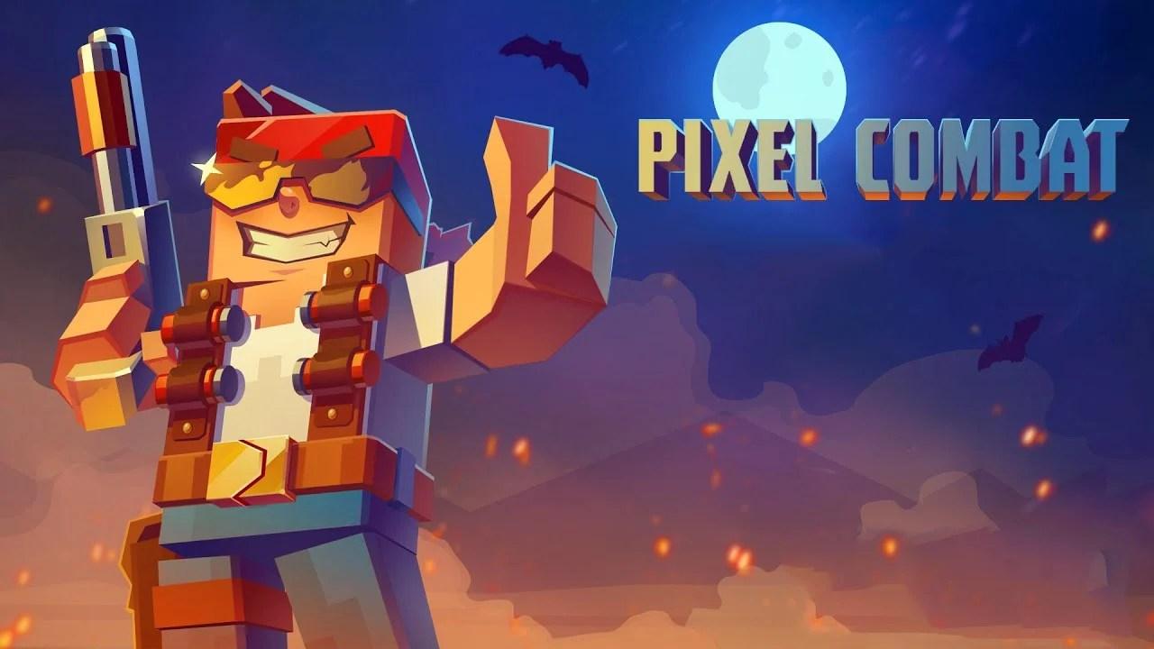 Pixel Combat Zombies Strike Poster