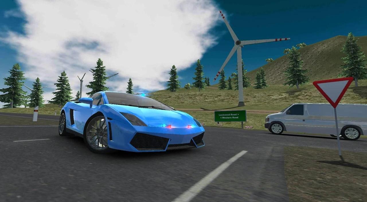 European luxury car screen 3
